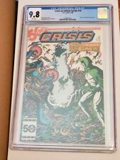 Crisis On Infinite Earths #10 CGC 9.8 White Pages
