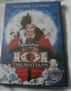 Disney 101 Dalmatians - Live Action (DVD, 2001, Bonus Footage) new and sealed
