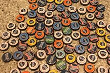 100 SAM ADAMS BEER BOTTLE CAPS MIXED COLORS NO DENTS FREE FAST SHPG!