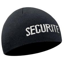 31d3e3663a BONNET SECURITE COMMANDO LAINE ACRYLIQUE NOIR TYPE ARMEE MILITAIRE