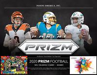 2020 Panini Prizm Football One Hobby Box Random Team Break #2
