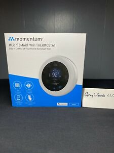 Momentum Meri Smart WiFi Thermostat (Model #: MO-STAT01) - NEW & SEALED