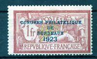 140320///..N° 182  CONGRES DE BORDEAUX neuf**.....gomme originale...COTE 925