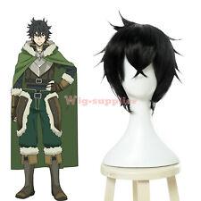 The Rising of the Shield Hero Naofumi Iwatani Cosplay Wig Mens Short Black Hair