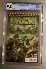 CGC 9.8 Totally Awesome Hulk #22 1st Weapon H