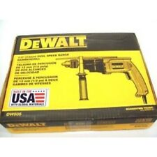 "NEW DEWALT DW505 1/2"" ELECTRIC VSR 7.8 AMP HAMMER DRILL NEW IN BOX SALE PRICE"