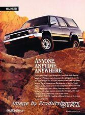 1992 Toyota 4Runner - Vintage Advertisement Print Art Car Ad J754