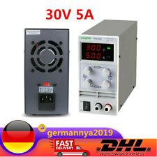DC 30V 5A Labornetzgerät Trafo Regelbar Laboratory Power Supply Netzteil DE DHL