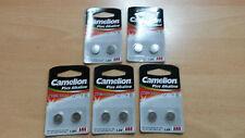 10 Stück Batterien Camelion Knopfzellen Plus Alkaline AG8 LR1120 LR55 191 391