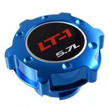 Blue Billet Anodized Oil Cap Filler LT1 Engine 5.7L Fits GM Silverado Sierra HD