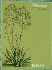 Bradleya 8/1990 Yearbook of the British Cactus and Succulent Society