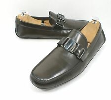 Salvatore Ferragamo Sardegna 5 Nero Sopra Loafer Dark Brown Size 11 D $680