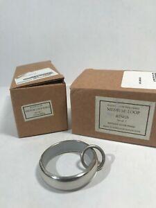 Restoration Hardware - Curtain Rings - 14 pcs - Antique Silver Finish - Ret$140.