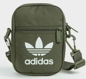 Adidas Military khaki Green side bag Satchel Crossbody Bumbag ☆TOP RATED SELLER☆