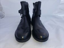 Ecco black leather boots, Size 40/9, New