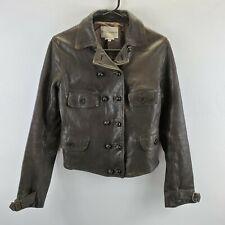 Emporio Armani 100% Vere Pelle Leather Jacket