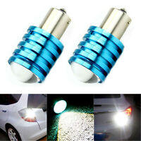 2x White 12V 1156 BA15S 7W P21W High Power CREE Q5 LED Car Bulb Reverse Light