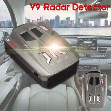 360 Degree Car Speed Radar Detector Voice Alert Warning V9 Laser LED Display 12V