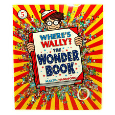 Where's Wally THE WONDER BOOK LARGE book 5 by Martin Handford BRAND NEW