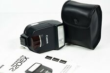 Canon Speedlite 220EX Shoe Mount Flash