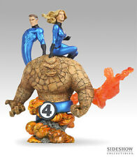 Marvel: Sideshow FANTASTIC FOUR diorama statue - RARE (captain/spiderman/thor)
