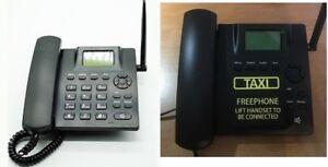 HOTLINE GSM TAXI PHONE SC393AD GSM Deskphone - BLACK