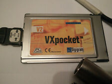 V2  VXPocket Professional Laptop Sound Card Digigram