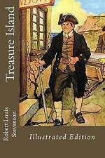 Treasure Island Illustrated Edition by Stevenson, Robert Louis -Paperback