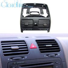 x1 NEU 1KD819728 Schwarz Für VW Golf GTI MK5 Lüftungsdüsen Heizung Verkleidung