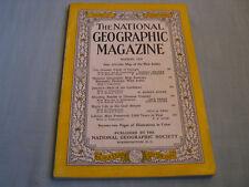 VINTAGE NATIONAL GEOGRAPHIC March 1954 GEORGIA Jamaica GULF STREAM NIGHT LIFE