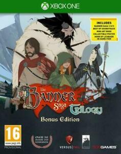 Banner Saga Trilogy Bonus Edition Xbox One BRAND NEW SEALED