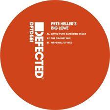 """PETE HELLER'S BIG LOVE - Big Love (remixes) (12"""") Defected Vinyl"""