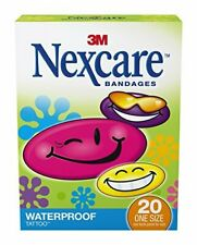 Nexcare Tattoo Waterproof Bandages, 20 ct