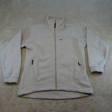 Berghaus Sweater Women Medium Grey Red White Logo Top Jumper Camping Ladies *