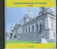 GENEALOGY DIRECTORY OF BELFAST 1846 CD ROM