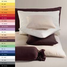 Schlafgut Jersey Kissenbezug Kissenhülle Kopfkissenbezug 40x80 cm 100%25 Baumwolle