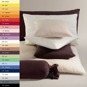 Schlafgut Jersey Kissenbezug Kissenhülle Kopfkissenbezug 40x80 cm 100% Baumwolle