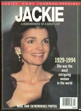 Jackie A Remembrance 1929-1994 Ladies Home Journal Special Issue Illustrated