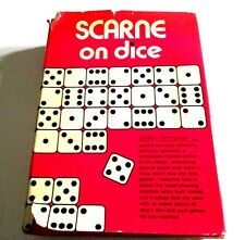 SCARNE ON DICE-Psychic or Educated Dice-Scarne's Correct Odds-Vegas Style HC/DJ-