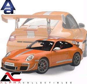 AUTOART 78148 1:18 PORSCHE 911/997 GT3 RS 4.0 ORANGE SUPERCAR DIECAST MODEL