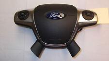 2011 2012 2013 11 12 13 FORD FOCUS STEERING WHEEL DRIVER AIRBAG AIR BAG OEM #517