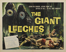 Attack of the Giant Leeches (1959) Cult Horror movie poster print