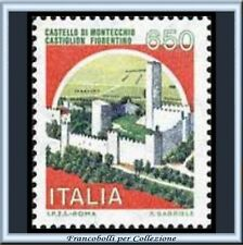 1986 Repubblica Castelli Italia L. 650 Nuovo **