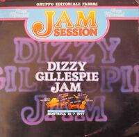 "JAZZ SPECIAL JAM SESSION - DIZZY GILLESPIE JAM   12"" LP Vinile"