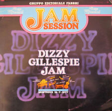 """33 giri JAZZ SPECIAL JAM SESSION - DIZZY GILLESPIE JAM   12"""" LP"""