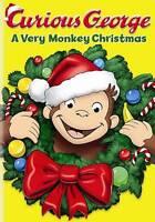 Curious George: A Very Monkey Christmas (DVD, 2009)