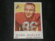 GERN NAGLER 1959 TOPPS SIGNED AUTO CARD #93 CARDINALS