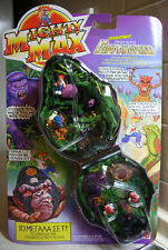 RARE VINTAGE 1993 MIGHTY MAX DOOM ZONES APE KING GREEK MATTEL NEW SEALED !