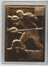 "George ""The Animal"" Steele 1999 Danbury Mint WWF Wrestling 22Kt Gold Card # 29"