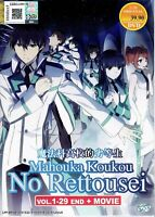 MAHOUKA KOUKOU NO RETTOUSEI - ANIME TV SERIES DVD (1-29 EPS + MOVIE)